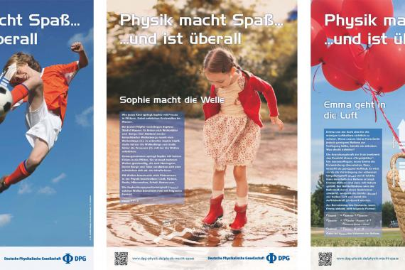 "Posterserie ""Physik macht Spaß"""