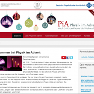 Physik im Advent 2014