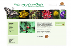 Website Naturgartenoase